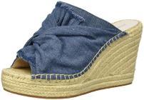 Kenneth Cole New York Women's Odelle 2 Slip on Wedge Espadrille Sandal