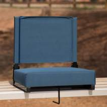 Flash Furniture Grandstand Comfort Seats by Flash with Ultra-Padded Seat in Teal