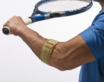 """Cho-Pat Tennis Elbow Support Strap - Comfortable, Adjustable, Targeted Forearm Support (Large, 12""""-13"""")"""