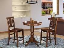 3 Pcpub Table set-pub Table and 2 dinette Chairs.
