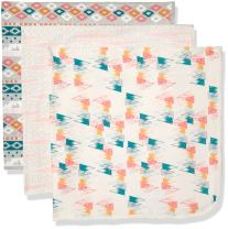 Rosie Pope Baby Girls' 3 Pack Blankets