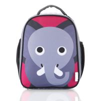 French Bull Lunch Bag - Insulated, Kids, Womens, Backpack, Fashion, Work, School - Elephant