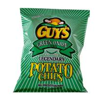 Guys Green Onion Potato Chips – 24 pack of Our Super Flavorful Green Onion Chip w/Legendary Taste – Chip and Dip in One Crunch Make Tasty Guy Snacks, Bulk Office Snacks 24 (1.5 oz Bags)