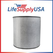 LifeSupplyUSA 2 Pack Replacement Filter Compatible with Austin Air HM 400 HealthMate HM-400 HM400 FR400