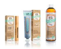 Dr. Ginger's Coconut Oil Oral Care 3-Pack Bundle - Coconut Mint Toothpaste (4 oz) + Mouthwash (12 oz) + Whitening Pen (.35 oz)