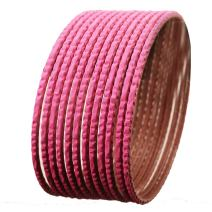 Touchstone New Colorful Dozen Bangle Collection Indian Bollywood Alloy Metal Textured Color Charming Thing Bangle Bracelets Set of 12 for Women.