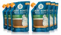 Rosemary & Lemon Bone Broth by Bare Bones - Organic, Chicken Bone Broth, Protein/Collagen-rich, 16 Oz (Pack of 6)