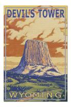 Devil's Tower, Wyoming (Premium 1000 Piece Jigsaw Puzzle for Adults, 20x30, Made in USA!)