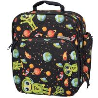 Bentology Lunch Box for Kids - Girls and Boys Insulated Lunchbox Bag Tote - Fits Bento Boxes - Alien