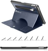 ZUGU CASE - 2019 iPad Air 3 10.5/2017 iPad Pro 10.5 inch Case Prodigy X - Very Protective But Thin + Convenient Magnetic Stand + Sleep/Wake Cover (Navy Blue)