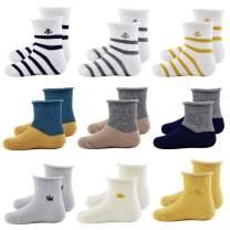 Baby Boys Girls Ankle Socks Soft Cotton Socks Toddler Crew Socks Baby Socks