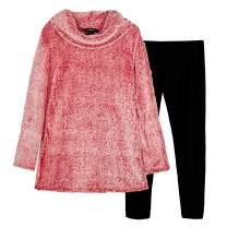 Amy Byer Girls' 2-Piece Sweatshirt and Legging Set