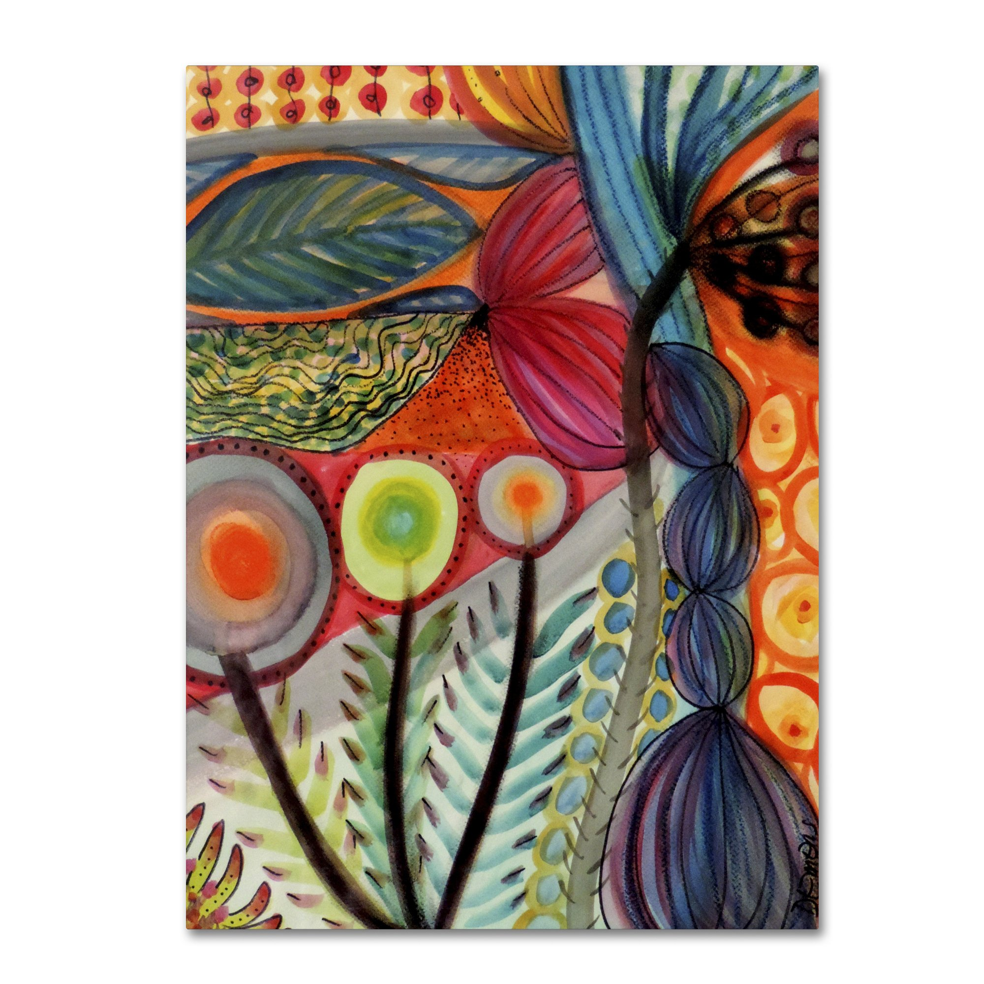 "Vivaces by Sylvie Demers Wall Hanging, 18"" x 24"" Canvas Wall Art"