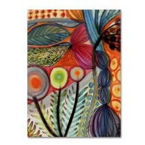 "Vivaces by Sylvie Demers Wall Hanging, 35"" x 47"" Canvas Wall Art"