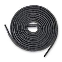 Lace Kings Oval Shoelaces (Dark Grey - 54in)