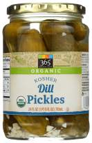 365 Everyday Value, Organic Dill Pickles, 24 fl oz