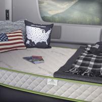InnerSpace Luxury Products 8-Inch RV Luxury Deluxe Reversible Memory Foam Mattress, King