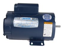 Leeson 131534.00 General Purpose ODP Motor, 1 Phase, 184T Frame, Rigid Mounting, 3HP, 1800 RPM, 115/230V Voltage, 60Hz Fequency