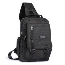 Sling Bag Cross Body Shoulder Backpack, Messenger Shoulder Bag Travel Chest Bag Outdoor Sport Pack Men Women (Black)