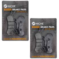 NICHE Front/Rear Right Brake Pad Set For Can-Am 715900380 Semi-Metallic 2 Pack