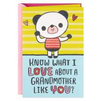 Hallmark Pop Up Mother's Day Card for Grandmother from Child (Love Everything About You)