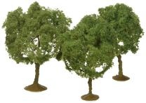 Bachmann Industries SceneScapes Oak Trees (3 Piece), 3 - 3 1/2""