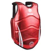 ASTSTAND Chest Guard Boxing Body Protector Kickboxing Martial Arts Muay Thai MMA Armour (RED M)
