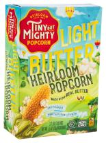 Tiny But Mighty Light Butter Heirloom Popcorn, for the Microwave, Pack of 8