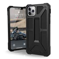 UAG Designed for iPhone 11 Pro Max [6.5-inch screen] Monarch Feather-Light Rugged [Black] Military Drop Tested iPhone Case