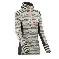 Kari Traa Women's Akle Hood Base Layer Top - Long Sleeve 100% Merino Wool Thermal Shirt