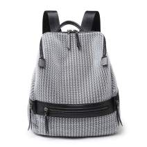 Small Women Backpack Purse Fashion Shoulder Bag Anti-theft Rucksack Mesh Breathable Ladies Travel Bag Large Capacity
