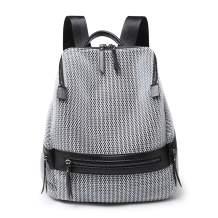 Small Women Backpack Purse Fashion Shoulder Bag Anti-theft Rucksack Mesh Breathable Ladies Travel Bag Large Capacity