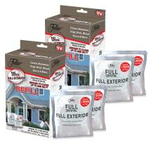 Full Exterior Refill Kits-Crystal Powder Outdoor Cleaner Packets Non-Toxic, No Scrub, No Rinse Cleaning Solution 16oz. Refill Kit (One 1lb. Bag)