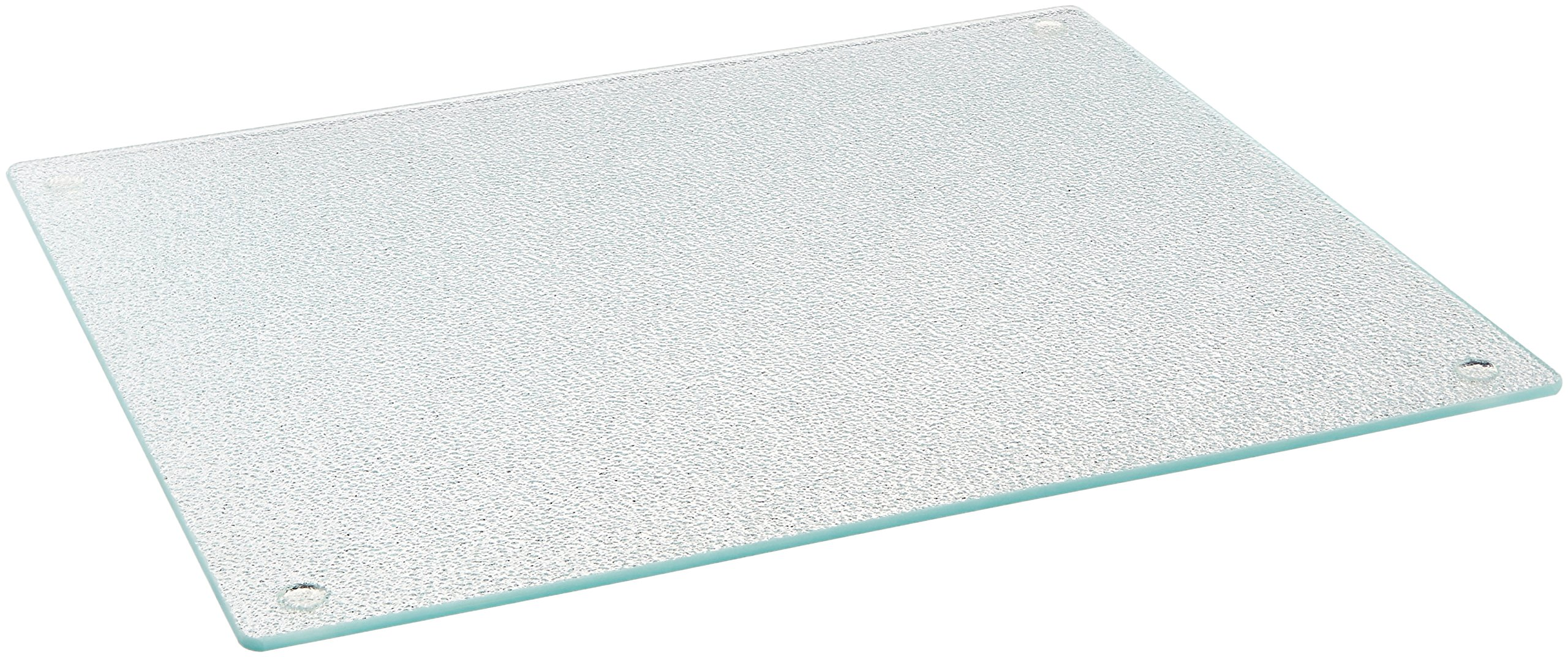 "Farberware Glass Utility Cutting Board, 12-Inch-by-14-Inch, 12"" x 14"", Clear"