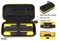 getgear Stud Sensor Case compatible with Franklin ProSensor 710, 710+, T13 mesh pocket for other accessories, Contrast orange color to match your sensor, Easy to hold strap