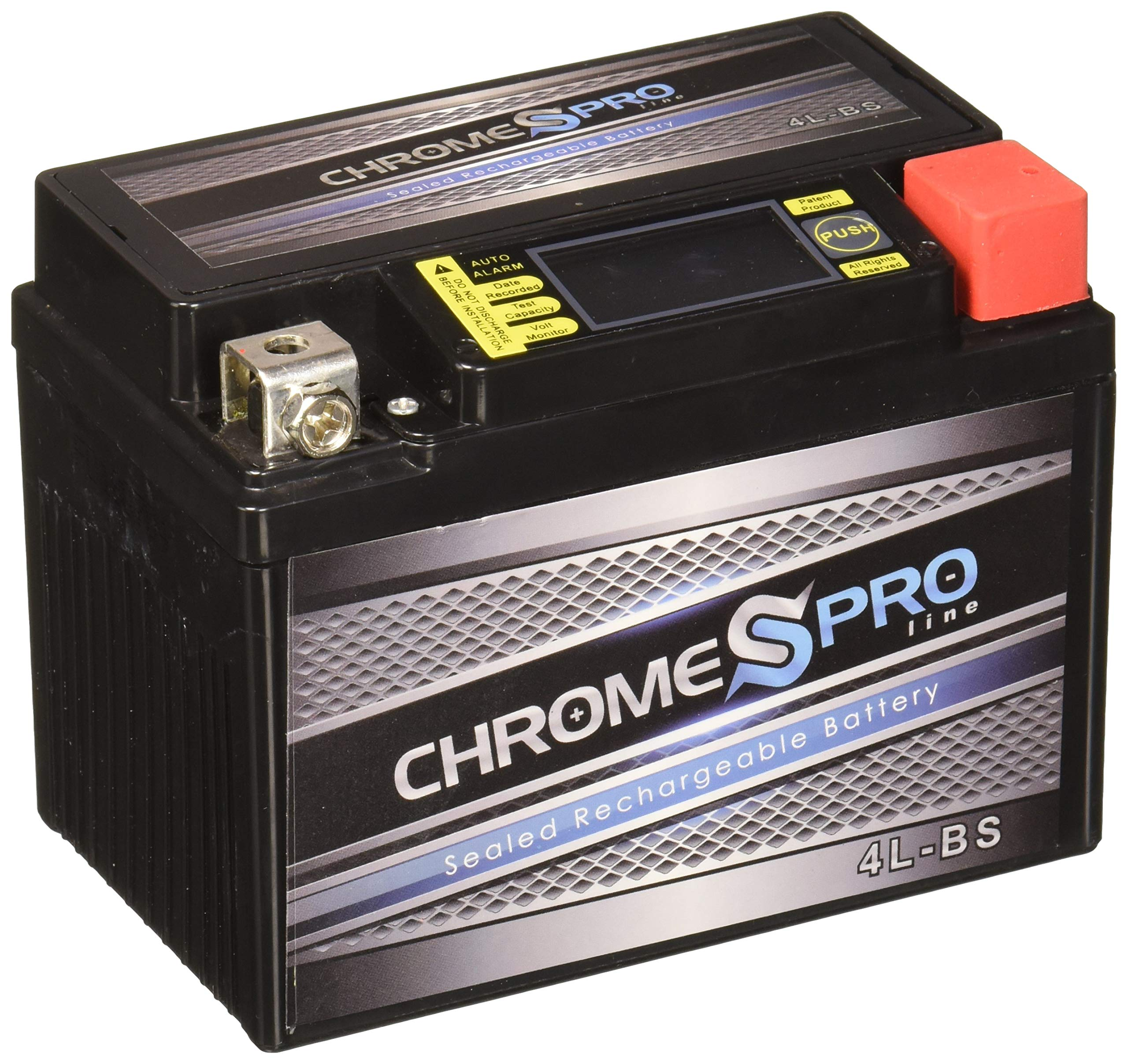 Chrome Battery YTX4L-BS IGEL lead_acid_battery
