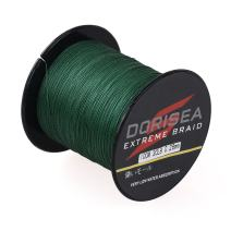Dorisea Extreme Braid 100% Pe Moss Green Braided Fishing Line 109Yards-2187Yards 6-550Lb Test Fishing Wire Fishing String Incredible Superline Zero Stretch