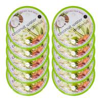 Spa Life Coconut Water and Argan Oil Hydrating Hair Mask 10 count