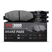 Rear Dynamic Friction Company 3000 Semi-Met Brake Pads 1311-0989-00