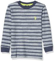 U.S. Polo Assn. Boys' Long Sleeve Crew Neck Thermal T-Shirt