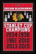 Trends International Wall Poster Chicago Blackhawks Champions, 22.375 x 34