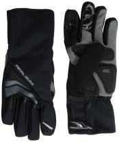 Pearl iZUMi Men's Elite Softshell Gel Gloves, Black