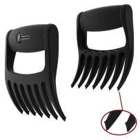 Cave Tools Meat Claws - Talon TIP Pulled Pork SHREDDERS - Extra 7th BBQ Fork Shreds Handles & Carves for Grill Smoker or Slow Crock Pot Cooker Handler - Barbecue Grilling & Smoking Accessories Set