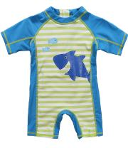 ATTRACO Baby Beach One-Piece Swimsuit Toddler Rash Guard Boy Girl UPF 50+ Sunsuit