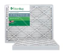 FilterBuy 22x24x1 MERV 13 Pleated AC Furnace Air Filter, (Pack of 4 Filters), 22x24x1 – Platinum
