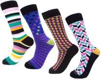 Cool Socks For Men-Colorful Socks for Men-Crazy Socks For Men, PHILOSOCKPHY's Men's Colorful Dress Socks
