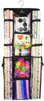 """Freegrace Double Sided Hanging Gift Wrap Organizer 