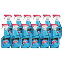 SC Johnson Professional WINDEX Glass & Surface Cleaner, Capped 32 Oz (Pack Of 12)