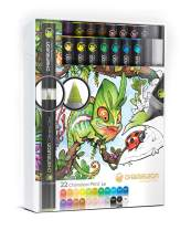 Chameleon Art Products, Chameleon Color Tones, Deluxe Set - 22 Pens