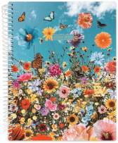 """Daisy by bloom daily planners 2020-2021 Academic Year Student Day Planner (July 2020 - July 2021) - Elementary Through Middle School Calendar Agenda Book - 7"""" x 9"""" - Wildflowers"""